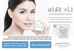 Liv White Diamond skin care cream serum Best face whitening