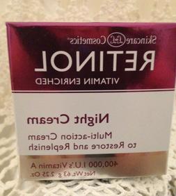 Skincare Cosmetics Retinol NIGHT Cream 400,000 I.U.s Vitamin