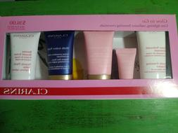 Clarins Skincare Kit_Cleanser, Yeux , Jour SPF20, Nuit, Balm