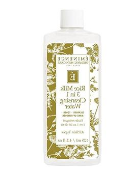 Eminence Organic Skincare Rice Milk 3 in 1 Cleansing Water,
