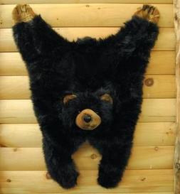 """Soft And Cuddly Cute Black Bear Floor Throw Area Rug  42"""""""