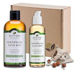 SPRING ONLY - Real, Organic Face And Body Bath Set. The Only