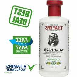 THAYERS CUCUMBER WITCH HAZEL Face Toner Alcohol-Free with Al