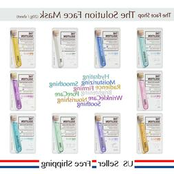 The Face Shop The Solution Mask Sheet 20g +Free Sample  [US
