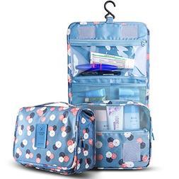Travel Toiletry Bag,Portable Waterproof Hanging Cosmetic Bag