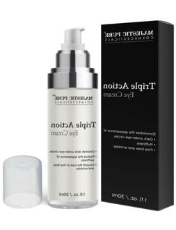 MAJESTIC PURE Triple Action Eye Cream - Reduces the Appearan