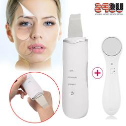 Ultrasonic Ultrasound Facial Skin Care Scrubber Face Salon B
