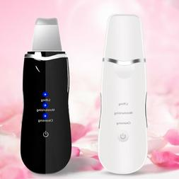 Ultrasonic Ultrasound Facial Skin Care Scrubber Face Salon B