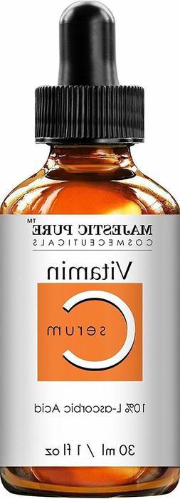 MAJESTIC PURE VITAMIN C FACIAL SERUM Anti Aging Serum Wrinkl