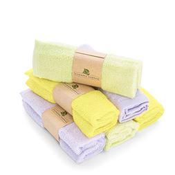 Best Bamboo Baby Washcloths Soft & Hypoallergenic Sensitive