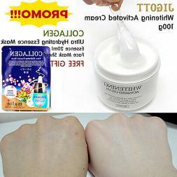 Best Whitening Cream 100ml + KOREAN COLLAGEN FACIAL MASK  Sk