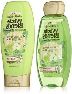 Garnier Whole Blends Refreshing Shampoo and Conditioner Set,