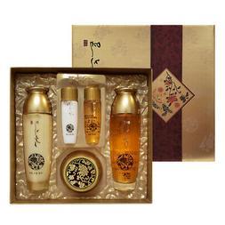 LK Yezihu Gold Skincare 3pcs Set  NEW BOX